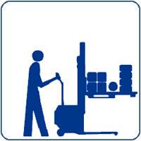 Hochhubwagen, Deichselstapler, Fahrerstandstapler,   4-Wege-Hochhubwagen und Gabelstapler