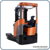 Schwerlast-Schubmaststapler