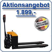 Aktionsangebot Elektro-Niederhubwagen
