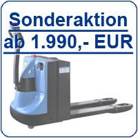 Sonderaktion Elektro-Niederhubwagen