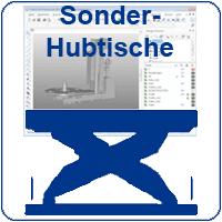 Sonder-Hubtische