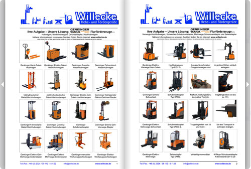 Willecke Online-Catalogue